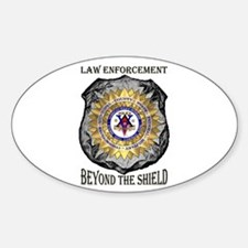 Beyond the Shield Oval Decal