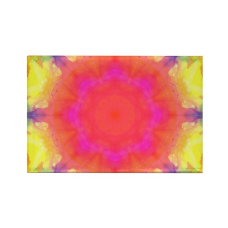 Astral Mandala Rectangle Magnet (100 pack)