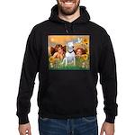 Cherubs / Bull Terrier Hoodie (dark)