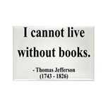 Thomas Jefferson 27 Rectangle Magnet (10 pack)