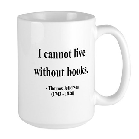 Thomas Jefferson 27 Large Mug