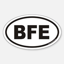 BFE Euro Oval Decal