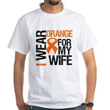 I Wear Orange For My Wife Shirt