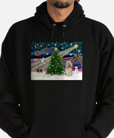XmasMagic/Buff Cocker Hoodie (dark)