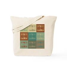 Backgammon Pop Art Tote Bag