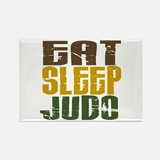 Eat Sleep Judo Rectangle Magnet