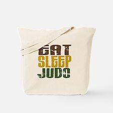 Eat Sleep Judo Tote Bag