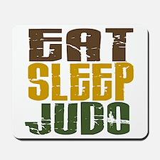 Eat Sleep Judo Mousepad