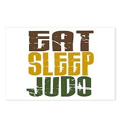Eat Sleep Judo Postcards (Package of 8)