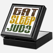 Eat Sleep Judo Keepsake Box