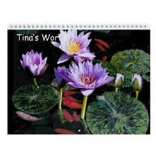 Tina's World Wall Calendar For 2016