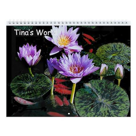 Tina's World Wall Calendar for 2013