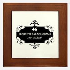 oddFrogg Obama 44 Inauguration Framed Tile