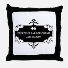 oddFrogg Obama 44 Inauguration Throw Pillow