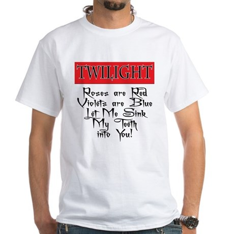 Twilight T-Shirts White T-Shirt
