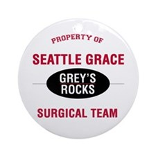 Greys Rocks Ornament (Round)