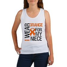 I Wear Orange Niece Women's Tank Top