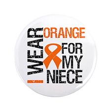 """I Wear Orange Niece 3.5"""" Button"""