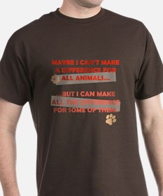 Making a Difference T-Shirt