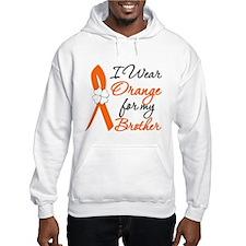 I Wear Orange For My Brother Hoodie Sweatshirt