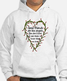 Friends Are Like Angels Hoodie