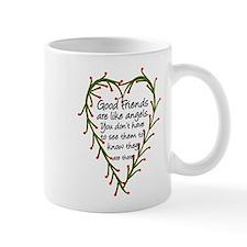 Friends Are Like Angels Small Mug
