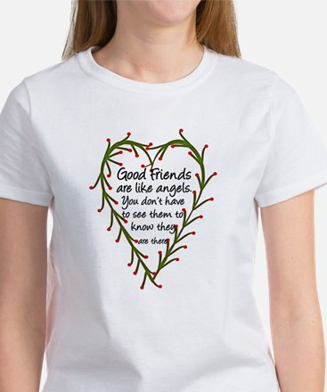 Friends Are Like Angels Women's T-Shirt