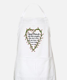 Friends Are Like Angels BBQ Apron