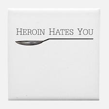 Cute Heroin Tile Coaster