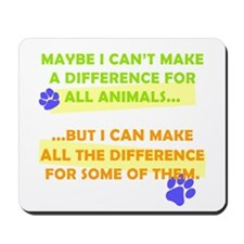 Making a Difference Mousepad