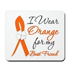 I Wear Orange For My Best Friend Mousepad
