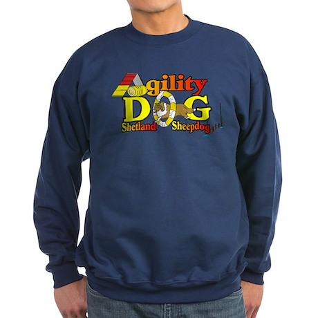 Sheltie Agility Sweatshirt (dark)