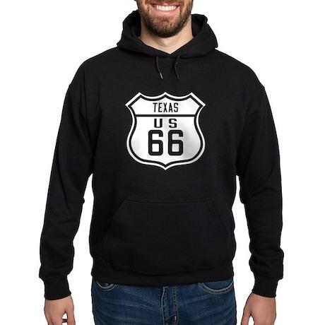 Route 66 Old Style - TX Hoodie (dark)