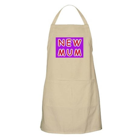 Give a new mother a NEW MUM BBQ Apron