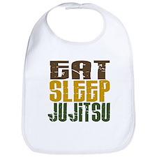 Eat Sleep Ju Jitsu Bib