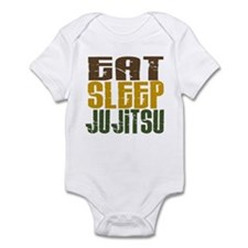 Eat Sleep Ju Jitsu Infant Bodysuit
