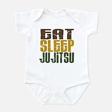 Eat Sleep Ju Jitsu Infant Bodysuit