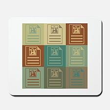 Archives Pop Art Mousepad