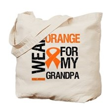 I Wear Orange For My Grandpa Tote Bag
