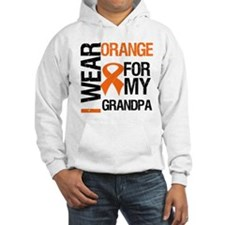 I Wear Orange For My Grandpa Hoodie Sweatshirt
