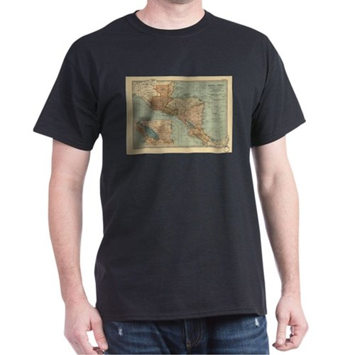 Vintage Map of Central America (1902) T-Shirt