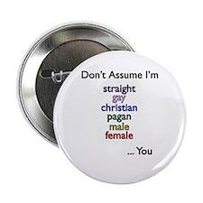 Don't Assume Button