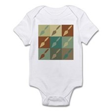 Archaeology Pop Art Onesie