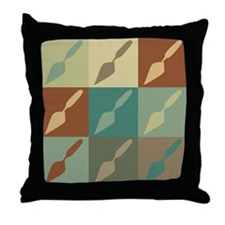 Archaeology Pop Art Throw Pillow
