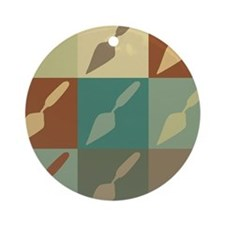 Archaeology Pop Art Ornament (Round)