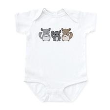 Chinchilla Infant Bodysuit