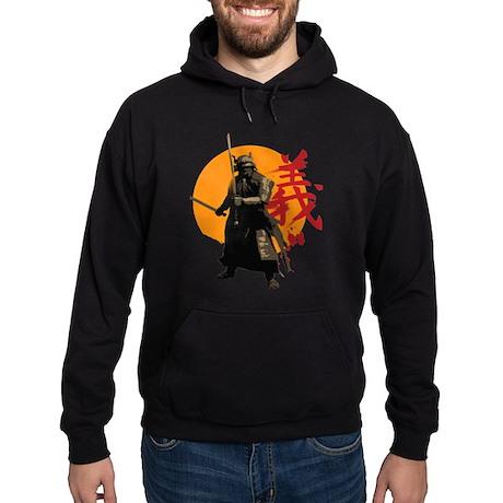 Samurai Warrior Hoodie (dark)
