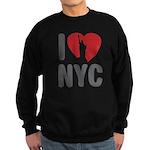 I Love NYC Sweatshirt (dark)