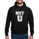 Not U Hoodie (dark)