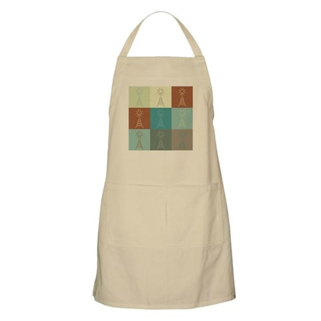 Amateur Radio Pop Art BBQ Apron